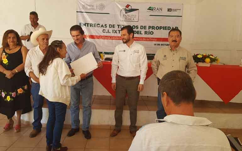 familias-de-ixtlan-del-rio-son-respaldadas-con-certificacion-de-sus-tierras-a-traves-del-registro-agrario-nacional