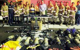 llega-equipamiento-de-bomberos-sin-fronteras-a-bahia-de-banderas