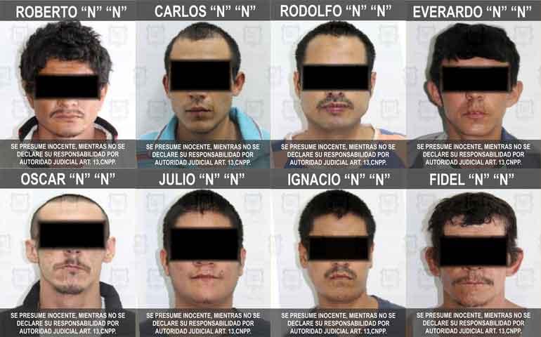 fiscalia-arresta-a-ocho-probables-responsables-de-robo-a-casas-en-tepic