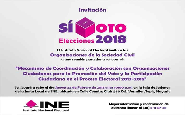 convocan-a-asociaciones-civiles-a-participar-en-promocion-del-voto