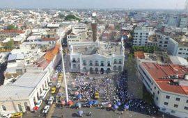 protestan-7-mil-taxistas-en-villahermosa-contra-uber
