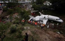 se-accidenta-avion-en-tegucigalpa-podria-ser-por-error-humano