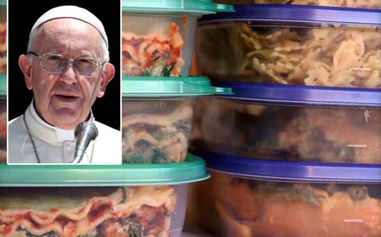 el-papa-exhorta-a-donar-las-sobras-de-comida