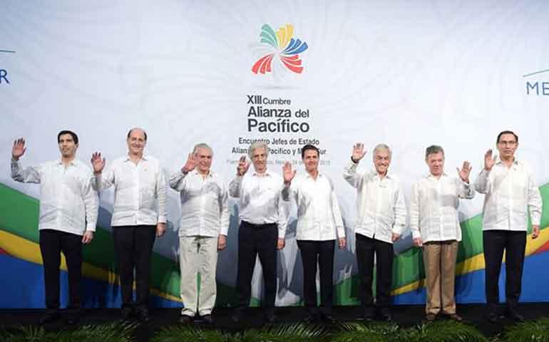 presidentes-acuerdan-mejorar-cooperacion-entre-alianza-del-pacifico-y-mercosur